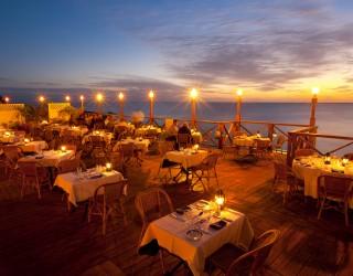 Romantic restaurant Header