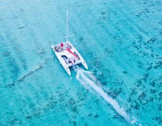 Grand Cayman Sunset Catamaran Sail Header